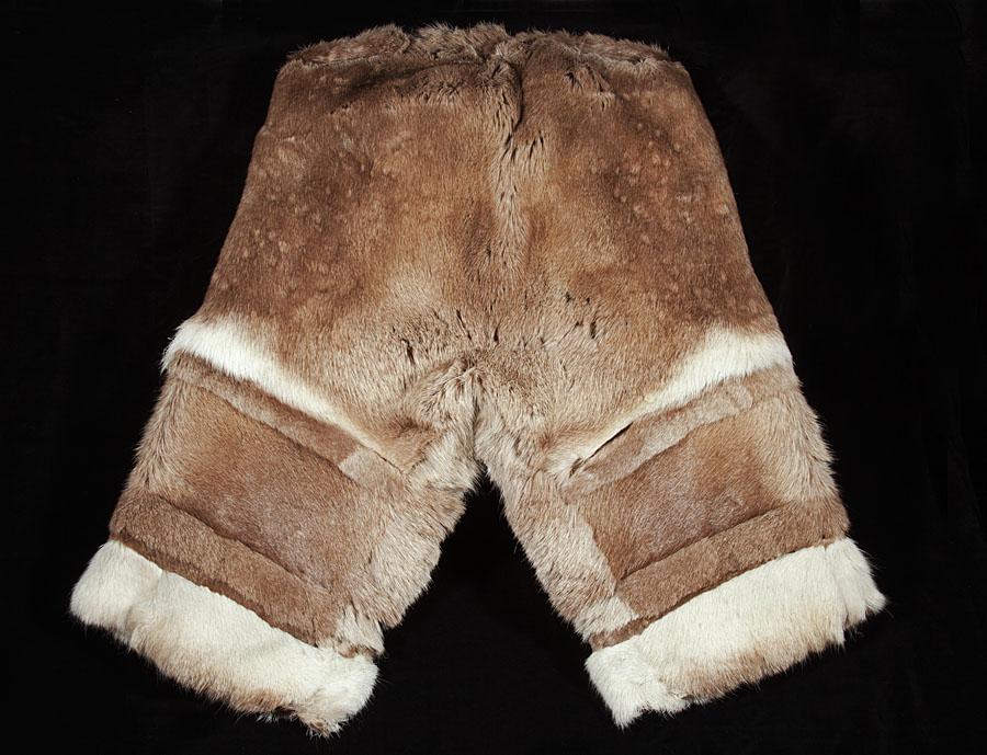 bukse i reinsdyrskinn