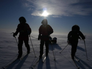 Centenary Expedition to the South Pole 1911–2011 skiing in Antarctica