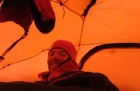 A day in the tent