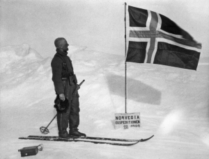 Finn Lützow-Holm at Enderby Land in Antarctica.