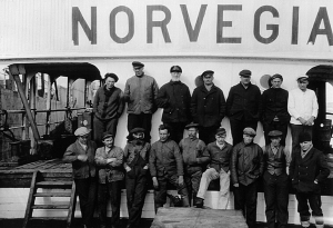 The fourth Norvegia expedition