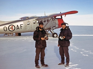 Operation Penguin: Aerial photography in Dronning Maud Land